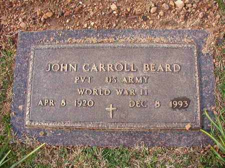 BEARD (VETERAN WWII), JOHN CARROLL - Dallas County, Arkansas | JOHN CARROLL BEARD (VETERAN WWII) - Arkansas Gravestone Photos