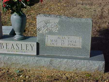 BEASLEY, ALTA V. - Dallas County, Arkansas | ALTA V. BEASLEY - Arkansas Gravestone Photos