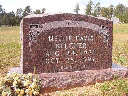 BELCHER, NELLIE - Dallas County, Arkansas | NELLIE BELCHER - Arkansas Gravestone Photos