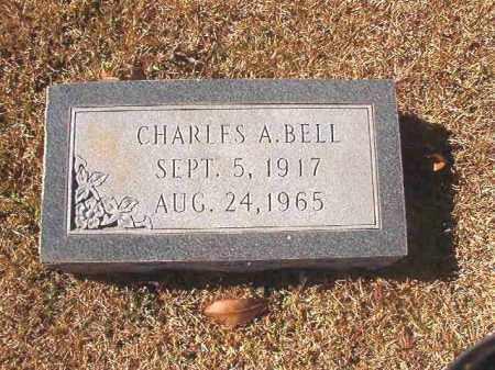 BELL, CHARLES A - Dallas County, Arkansas | CHARLES A BELL - Arkansas Gravestone Photos