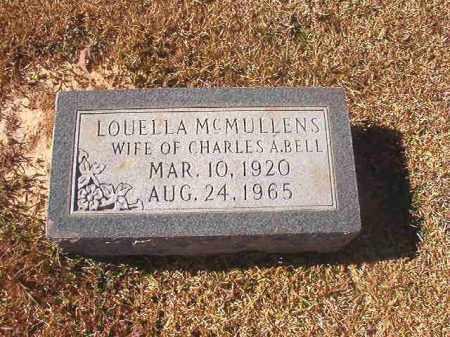 BELL, LOUELLA - Dallas County, Arkansas | LOUELLA BELL - Arkansas Gravestone Photos