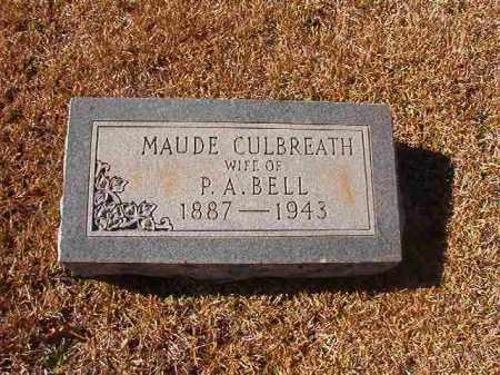CULBREATH BELL, MAUDE - Dallas County, Arkansas | MAUDE CULBREATH BELL - Arkansas Gravestone Photos