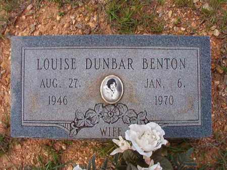 BENTON, LOUISE - Dallas County, Arkansas | LOUISE BENTON - Arkansas Gravestone Photos