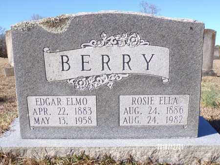 BERRY, ROSIE ELLA - Dallas County, Arkansas   ROSIE ELLA BERRY - Arkansas Gravestone Photos