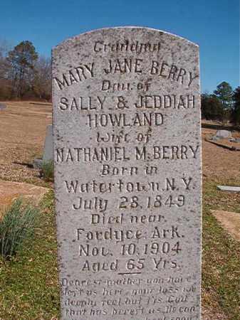 BERRY, MARY JANE - Dallas County, Arkansas | MARY JANE BERRY - Arkansas Gravestone Photos