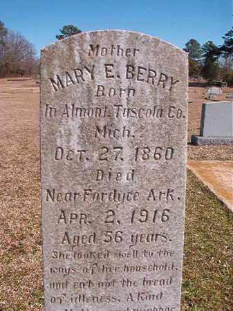 BERRY, MARY E - Dallas County, Arkansas   MARY E BERRY - Arkansas Gravestone Photos