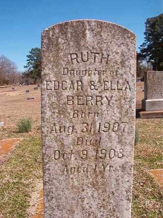 BERRY, RUTH - Dallas County, Arkansas | RUTH BERRY - Arkansas Gravestone Photos