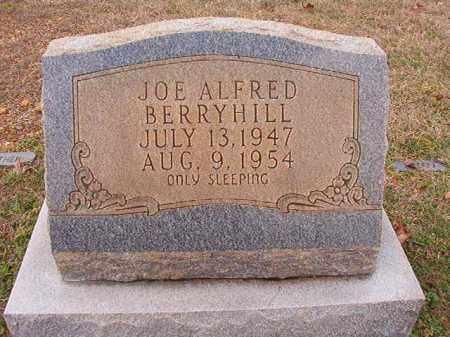 BERRYHILL, JOE ALFRED - Dallas County, Arkansas   JOE ALFRED BERRYHILL - Arkansas Gravestone Photos