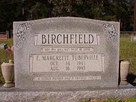 TUBERVILLE BIRCHFIELD, E MARGRETTE - Dallas County, Arkansas | E MARGRETTE TUBERVILLE BIRCHFIELD - Arkansas Gravestone Photos