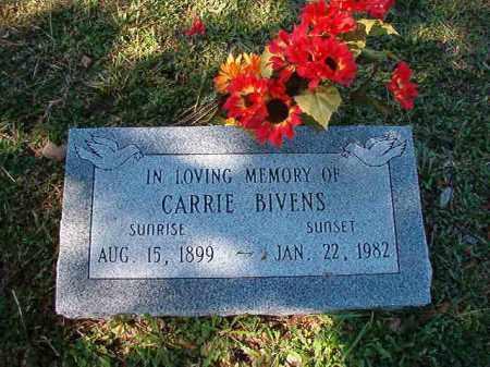 BIVENS, CARRIE - Dallas County, Arkansas | CARRIE BIVENS - Arkansas Gravestone Photos