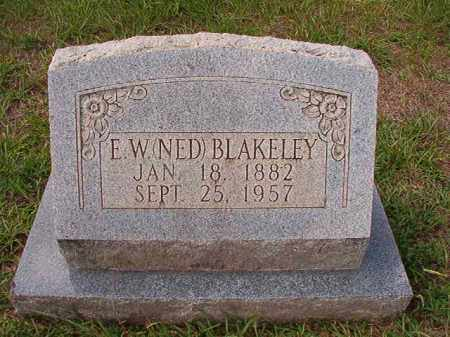 BLAKELEY, E W (NED) - Dallas County, Arkansas   E W (NED) BLAKELEY - Arkansas Gravestone Photos