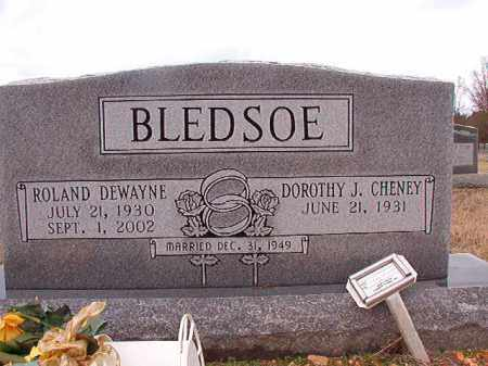 BLEDSOE, ROLAND DEWAYNE - Dallas County, Arkansas | ROLAND DEWAYNE BLEDSOE - Arkansas Gravestone Photos