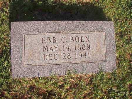 BOEN, EBB C - Dallas County, Arkansas   EBB C BOEN - Arkansas Gravestone Photos
