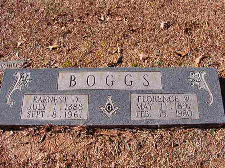 BOGGS, FLORENCE W - Dallas County, Arkansas | FLORENCE W BOGGS - Arkansas Gravestone Photos