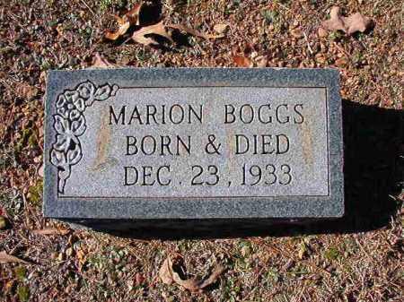 BOGGS, MARION - Dallas County, Arkansas   MARION BOGGS - Arkansas Gravestone Photos