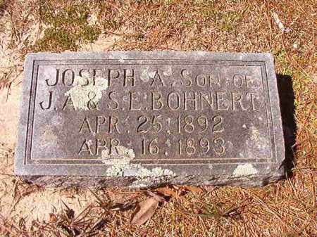 BOHNERT, JOSEPH A - Dallas County, Arkansas   JOSEPH A BOHNERT - Arkansas Gravestone Photos