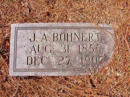BOHNERT, J A - Dallas County, Arkansas | J A BOHNERT - Arkansas Gravestone Photos
