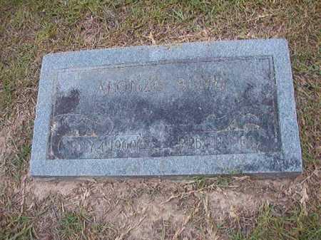 BOYD, ALONZO - Dallas County, Arkansas | ALONZO BOYD - Arkansas Gravestone Photos