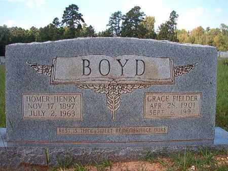 FIELDER BOYD, GRACE - Dallas County, Arkansas | GRACE FIELDER BOYD - Arkansas Gravestone Photos
