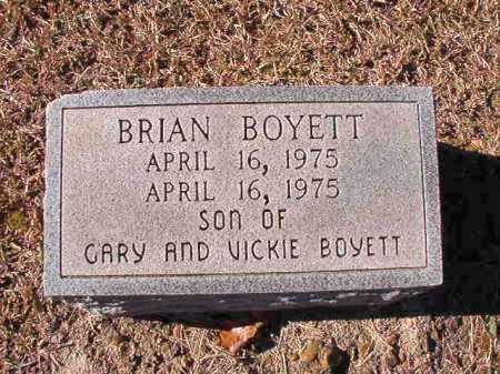 BOYETT, BRIAN - Dallas County, Arkansas   BRIAN BOYETT - Arkansas Gravestone Photos