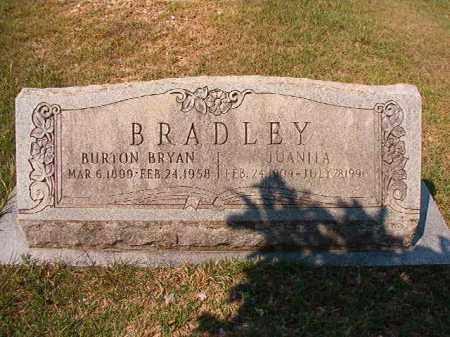 BRADLEY, JUANITA - Dallas County, Arkansas   JUANITA BRADLEY - Arkansas Gravestone Photos