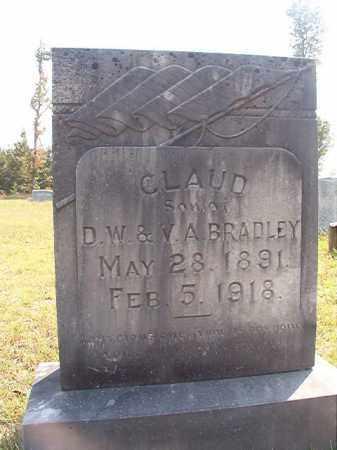 BRADLEY, CLAUD - Dallas County, Arkansas | CLAUD BRADLEY - Arkansas Gravestone Photos