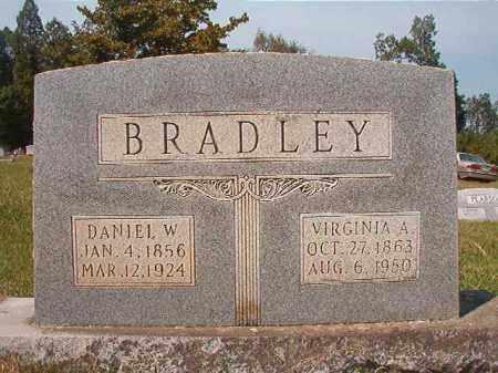 BRADLEY, DANIEL W - Dallas County, Arkansas | DANIEL W BRADLEY - Arkansas Gravestone Photos