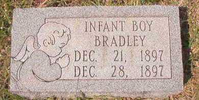 BRADLEY, INFANT BOY - Dallas County, Arkansas | INFANT BOY BRADLEY - Arkansas Gravestone Photos