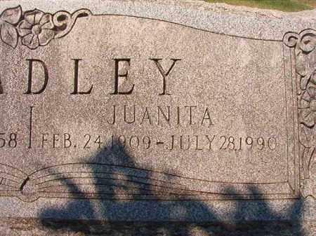 BRADLEY, JUANITA - Dallas County, Arkansas | JUANITA BRADLEY - Arkansas Gravestone Photos