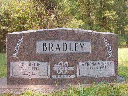 BRADLEY, JOE BURTON - Dallas County, Arkansas | JOE BURTON BRADLEY - Arkansas Gravestone Photos
