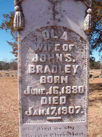 BRADLEY, OLA - Dallas County, Arkansas   OLA BRADLEY - Arkansas Gravestone Photos