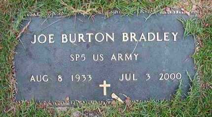 BRADLEY (VETERAN), JOE BURTON - Dallas County, Arkansas | JOE BURTON BRADLEY (VETERAN) - Arkansas Gravestone Photos