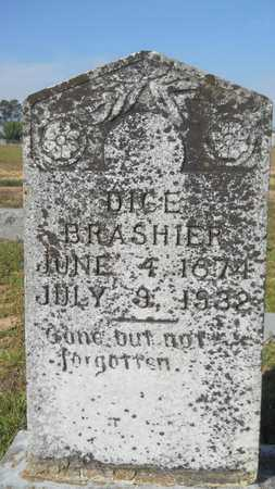 BRASHIER, DICE - Dallas County, Arkansas | DICE BRASHIER - Arkansas Gravestone Photos