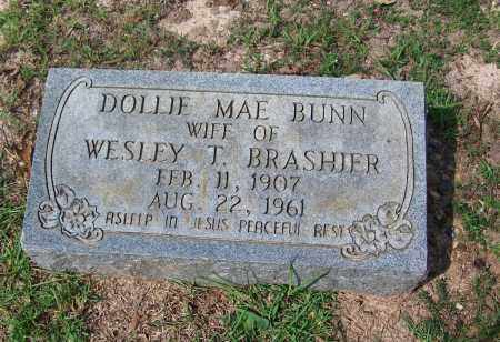 BUNN BRASHIER, DOLLIE MAE - Dallas County, Arkansas | DOLLIE MAE BUNN BRASHIER - Arkansas Gravestone Photos