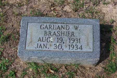 BRASHIER, GARLAND W - Dallas County, Arkansas | GARLAND W BRASHIER - Arkansas Gravestone Photos