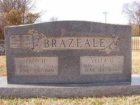 BRAZEALE, FRED H - Dallas County, Arkansas   FRED H BRAZEALE - Arkansas Gravestone Photos