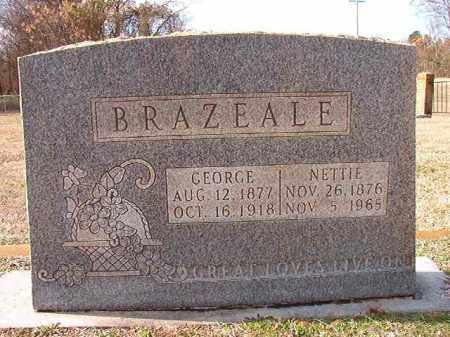 BRAZEALE, GEORGE - Dallas County, Arkansas | GEORGE BRAZEALE - Arkansas Gravestone Photos