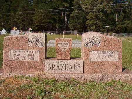 BRAZEALE, HOMER LAFAYETTE - Dallas County, Arkansas | HOMER LAFAYETTE BRAZEALE - Arkansas Gravestone Photos