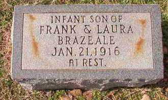 BRAZEALE, INFANT SON - Dallas County, Arkansas | INFANT SON BRAZEALE - Arkansas Gravestone Photos