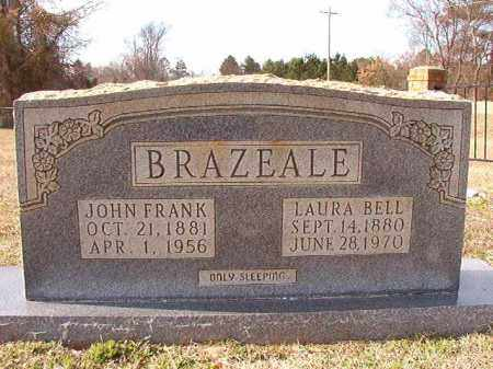 BRAZEALE, LAURA BELL - Dallas County, Arkansas | LAURA BELL BRAZEALE - Arkansas Gravestone Photos