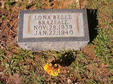 BRAZEALE, LONA BELLE - Dallas County, Arkansas   LONA BELLE BRAZEALE - Arkansas Gravestone Photos