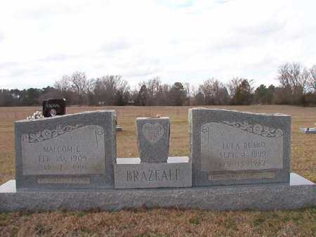BEARD BRAZEALE, LULA - Dallas County, Arkansas | LULA BEARD BRAZEALE - Arkansas Gravestone Photos