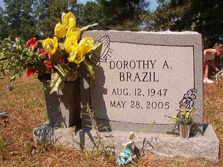 BRAZIL, DOROTHY A - Dallas County, Arkansas | DOROTHY A BRAZIL - Arkansas Gravestone Photos