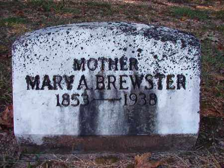 BREWSTER, MARY A - Dallas County, Arkansas | MARY A BREWSTER - Arkansas Gravestone Photos