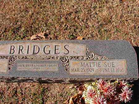 BRIDGES, MATTIE SUE - Dallas County, Arkansas | MATTIE SUE BRIDGES - Arkansas Gravestone Photos