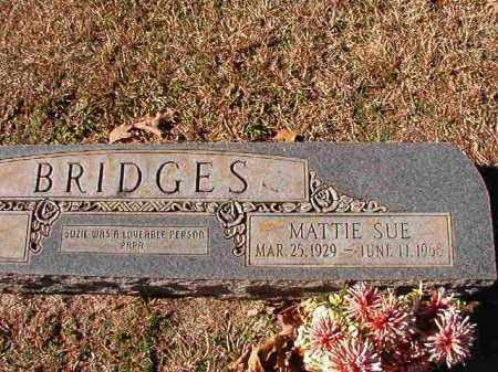 BRIDGES, MATTIE SUE - Dallas County, Arkansas   MATTIE SUE BRIDGES - Arkansas Gravestone Photos