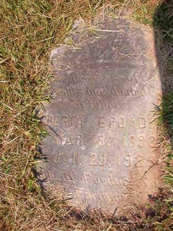 BROADNAX, ROBERTA - Dallas County, Arkansas | ROBERTA BROADNAX - Arkansas Gravestone Photos