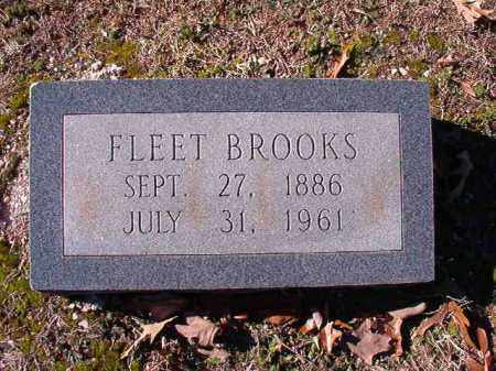 BROOKS, FLEET - Dallas County, Arkansas | FLEET BROOKS - Arkansas Gravestone Photos