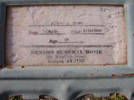 BROWN, ALFRED J - Dallas County, Arkansas | ALFRED J BROWN - Arkansas Gravestone Photos
