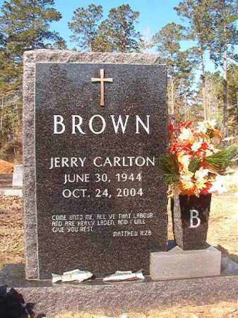 BROWN, JERRY CARLTON - Dallas County, Arkansas | JERRY CARLTON BROWN - Arkansas Gravestone Photos